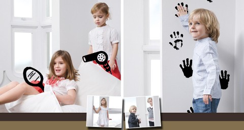 Rebajas en ropa elegante para niños y niñas