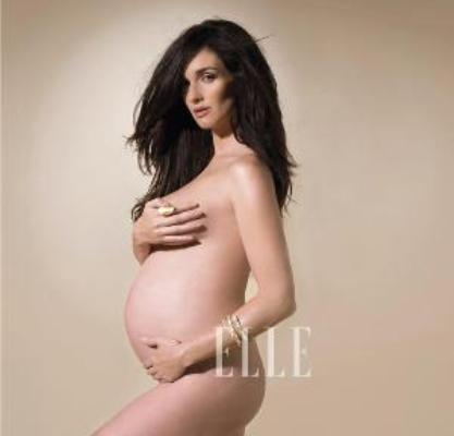 Paz Vega, un embarazo de portada