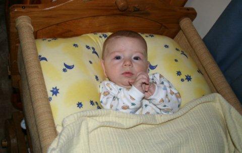 Como poner un supositorio al bebé