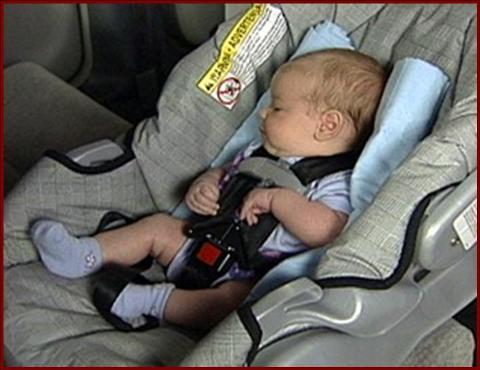Los niños no pueden quedarse sólos en el coche