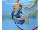 El cloro de las piscinas puede afectar a los bebés