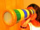 Manualidades con niños: Construye un caleidoscopio