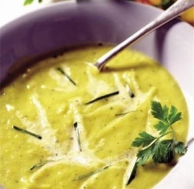 receta: crema de zanahorias y calabacin