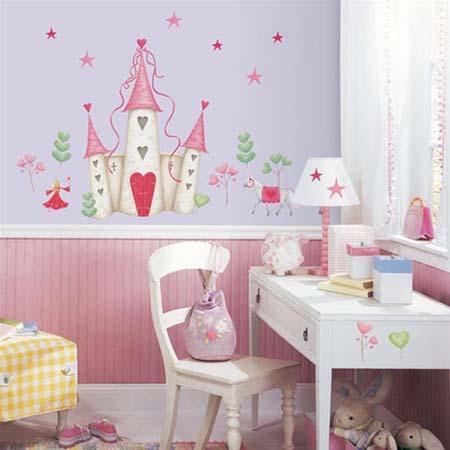 Vinilos para decorar la habitaci n de los ni os for Vinilos para habitacion ninos