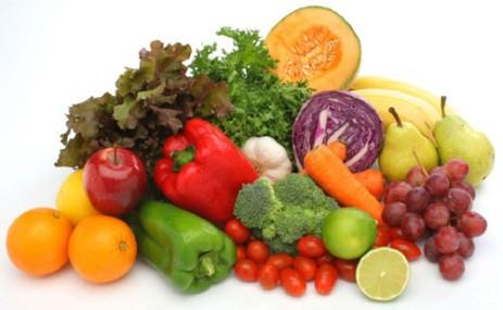 como elegir las mejores frutas y verduras del mercado