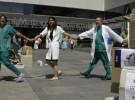 Galicia enfrenta la gripe A con pocos pediatras