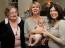 Las madres siguen el estilo de crianza de sus madres