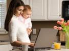 Madres con ayudas tecnológicas