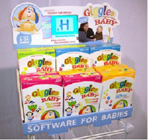 Giggles Computer Funtime, el primer programa de ordenador para tu bebé