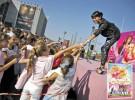 Una concentración de Barbies Mosqueteras recorre España