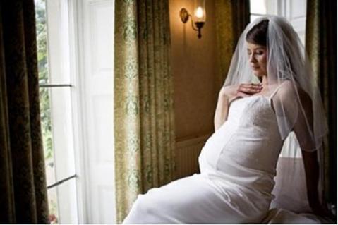 Vestidos de novia embarazada