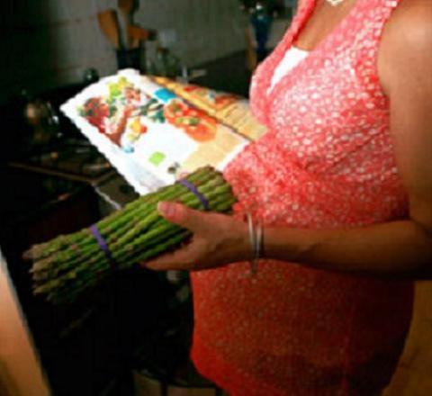 La verdura durante el embarazo puede proteger al bebé de la diabetes