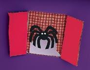manualidades con niños arañas y fantasmas halloween 1