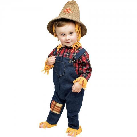 Disfraz casero para Halloween: Espantapájaros