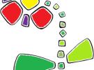 Manualidades con niños: Un dibujo con gomets
