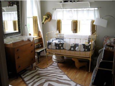 Propuestas para el dormitorio del bebé: vintage o arriesgado
