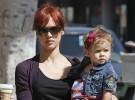 Jessica Alba y su niña de paseo por Beverly Hills