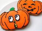 Galletas de Halloween preparadas para regalo