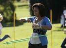Michelle Obama anima a los niños a comer sano