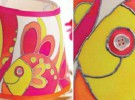 Manualidades con niños: Decorar la lámpara de la mesilla