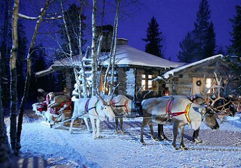 Viajar con niños: visitar a Papá Noel en el puente de diciembre