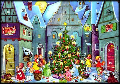 Esperando la Navidad, el calendario de Adviento