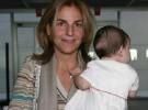 Arancha Sánchez Vicario, disfruta cada segundo de su maternidad