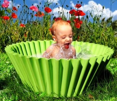 regalos para navidad: una bañera en forma de flanera