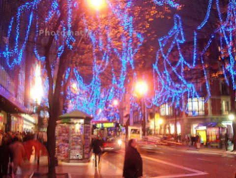 Viajar con niños en Navidad: Bilbao