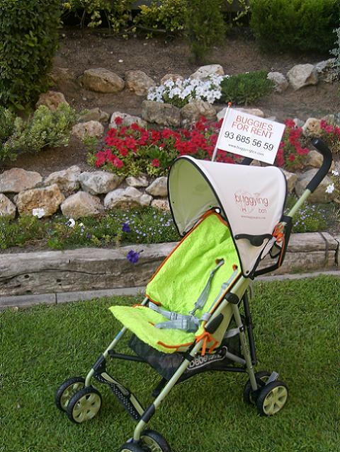 Servicio de alquiler de sillitas de niño en Barcelona