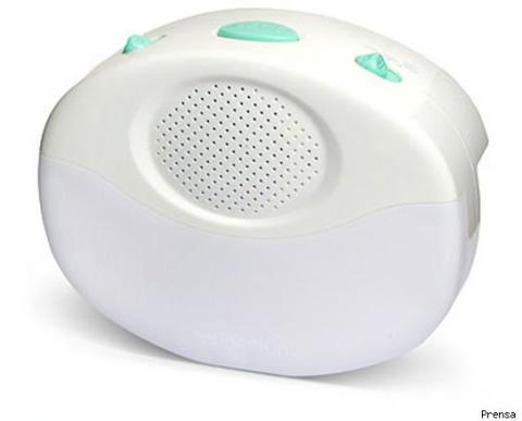 Nuevo invento para calmar al bebé con luces y sonidos