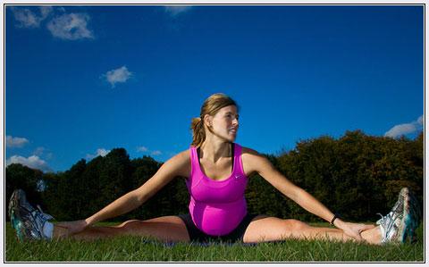 El ejercicio hasta el final del embarazo no perjudica al feto