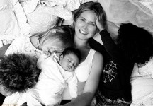 las primeras fotografias de la modelo heidi klum con su cuarta hija1