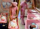 En Taiwan se puede nacer en una maternidad de Hello Kitty
