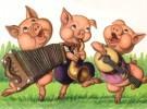 Nueva versión de Los Tres Cerditos para teatro