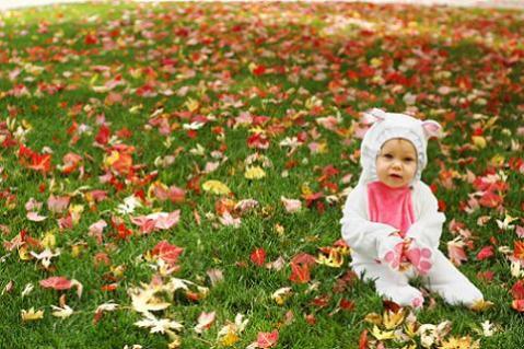 Vestir al bebé en otoño