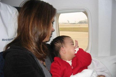el pasaporte para el bebe