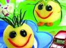 Receta para niños: Bolitas de patata rellenas