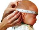 El perímetro craneal en el bebé