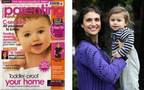 Retoques con Photoshop también en el mundo del bebé