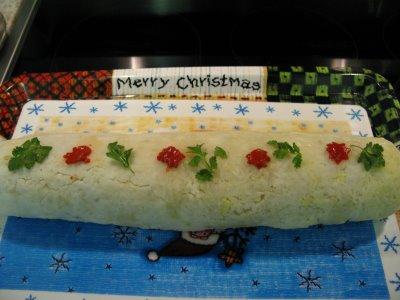 Cocinar con niños: Rollo de Navidad