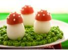 Receta para niños: Setas de huevo con sorpresa
