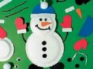 Manualidades con niños: muñecos de nieve