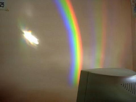 Crea un arco iris para tu bebé