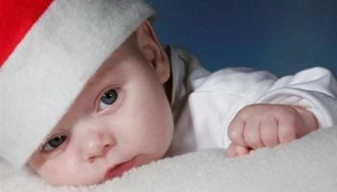 el recien nacido necesita de su rutina tambien en navidad