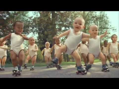 Los bebés patinadores, mejor anuncio del 2009