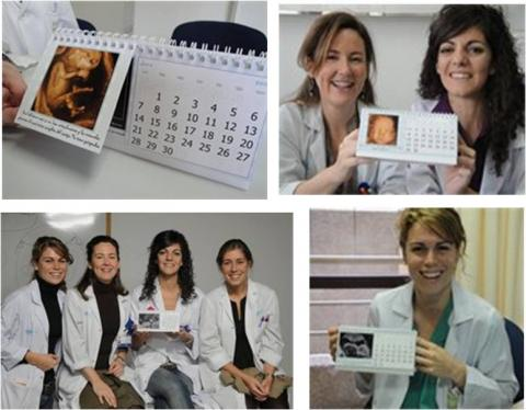 Nace 'El Calendario del Bebé', primer almanaque solidario en apoyo de la embarazada