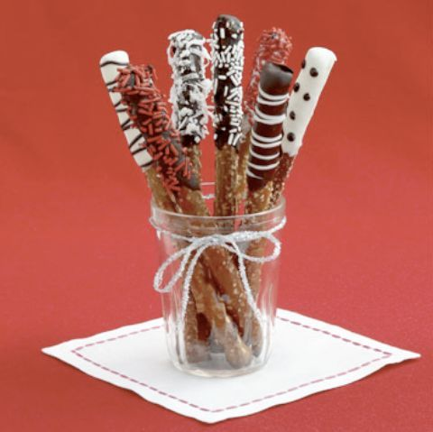 receta de navidad: chucherias de chocolate