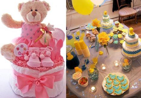 Ideas decorativas para Baby Shower