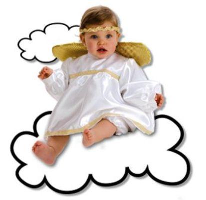 disfraz casero para navidad angel